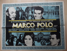 Fabulous Adventures of Marco Polo, Original UK Quad Poster, Anthony Quinn, '65